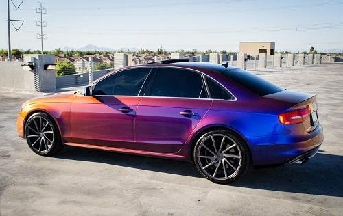 Le futur des peintures auto