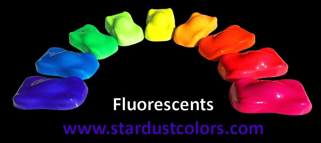 Gamme Teintes Fluorescentes