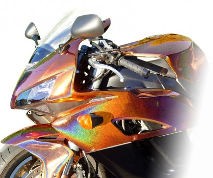 Kit complet peinture moto