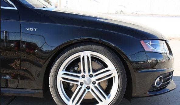 peinture Audi noire