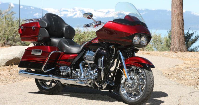 exemple de teinte d'origine Harley Davidson Candy