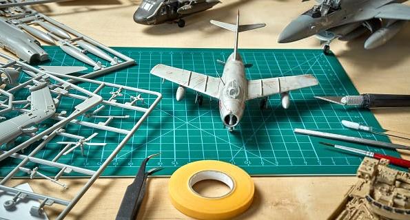 Peinture de maquette - Peinture modèle réduit