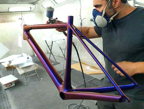 Peinture personnalisée sur Vélo