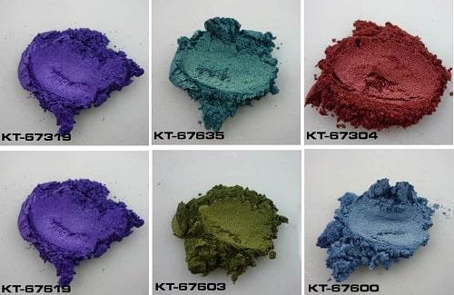 Pigment à effet spécial