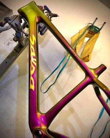 Quelle peinture pour peindre son vélo ?