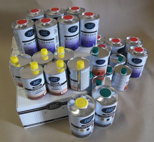 Solvant de peinture