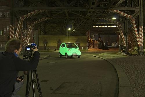 Peinture phosphorescente pour voiture et moto